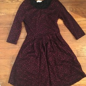 Maroon dress from Nordstrom